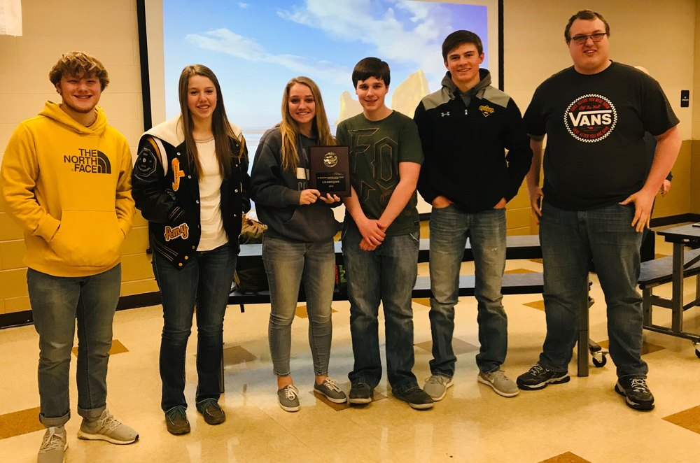 Prairie's Knowledge Bowl Team