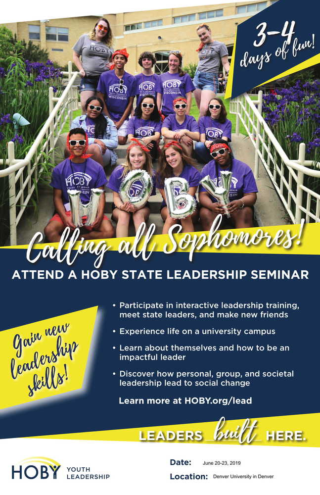 HOBY Youth Leadership Seminar