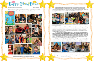 6th Grade Newsletter March 13th