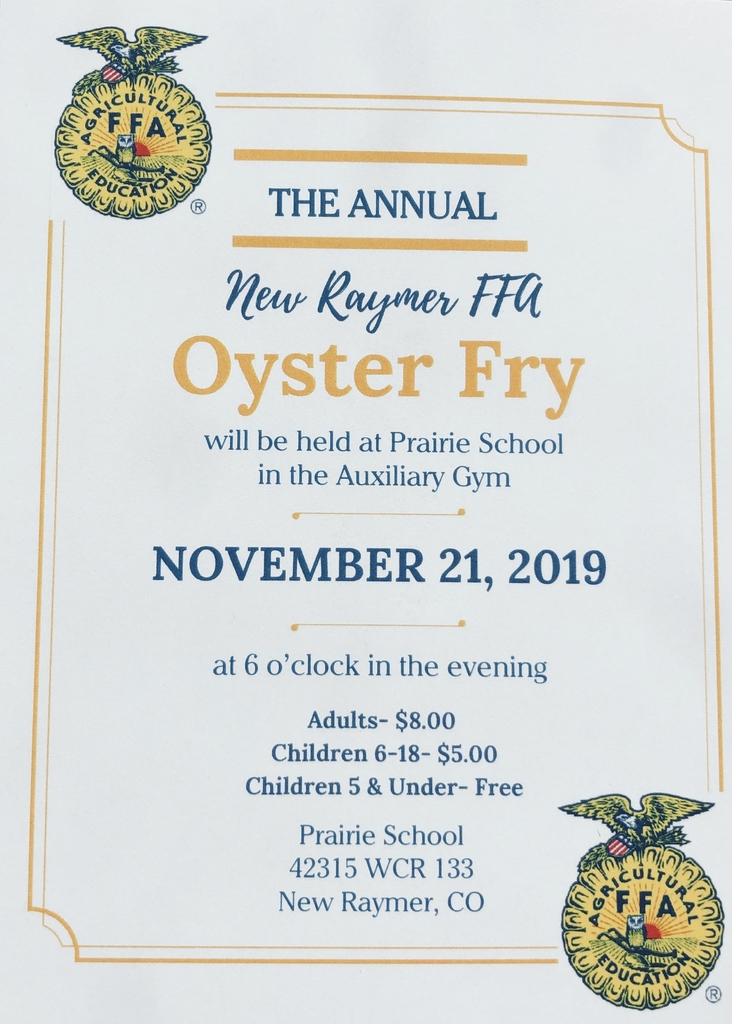 The Oyster Fry invitation.