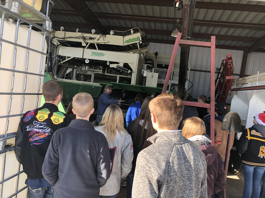 Learning how onions are mechanically harvested.