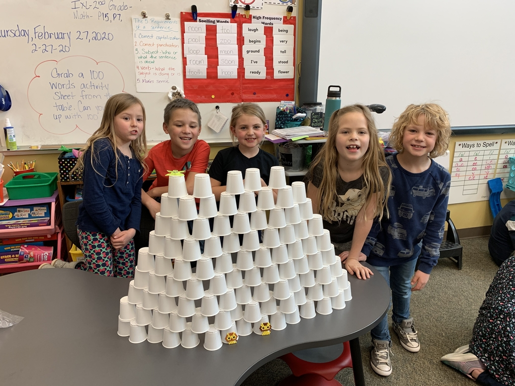 What can you make with 100 cups?